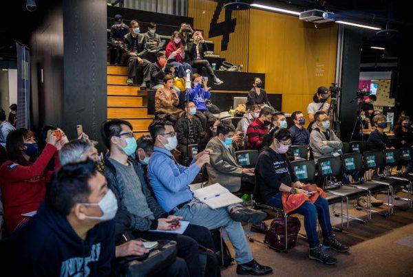 「台大創創中心 Demo Day 暨企業創新論壇」現場與會觀眾主要為企業總經理、策略長、新事業發展部門主管等,一同探討企業的成長策略。